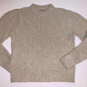 ASOS Taupe Crew Neck Sweater, Sz 4